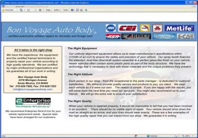 Bon Voyage Auto Body