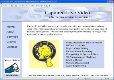 Captured Live Video