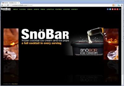 Snöbar Cocktails
