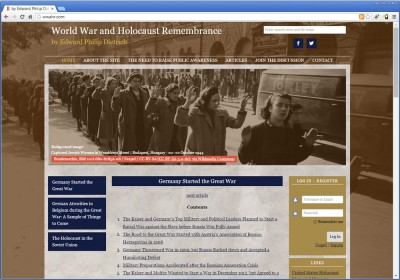 World War and Holocaust Remembrance