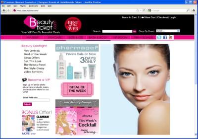 Beauty Ticket - v.1