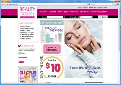 Beauty Ticket - v.2