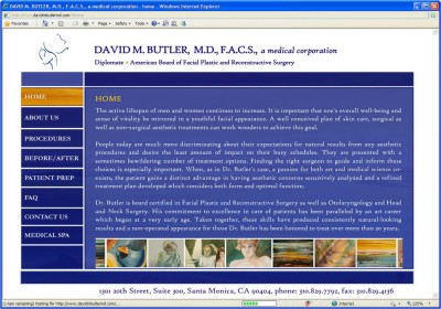 David M. Butler MD, FACS