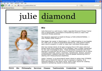 Julie Diamond Fitness - v.1