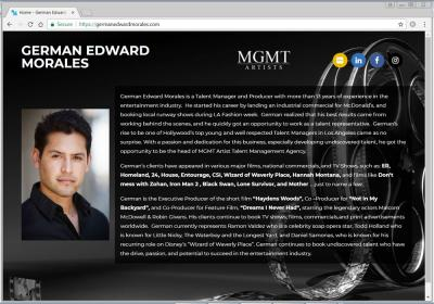 German Edward Morales Agent