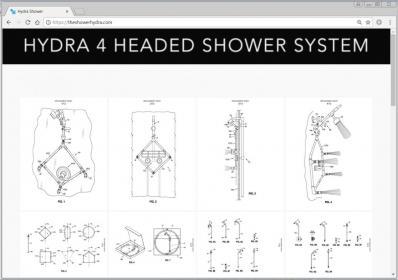 Hydra 4 Head Shower System