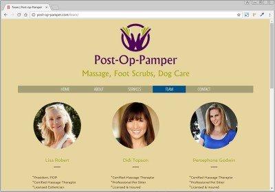 Post Op Pamper