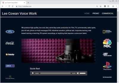 Lee Cowan Voice Work